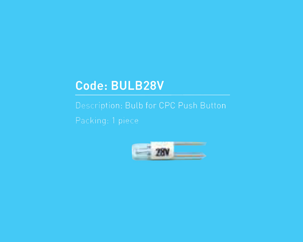 Bulb For CPC Push Button 28V