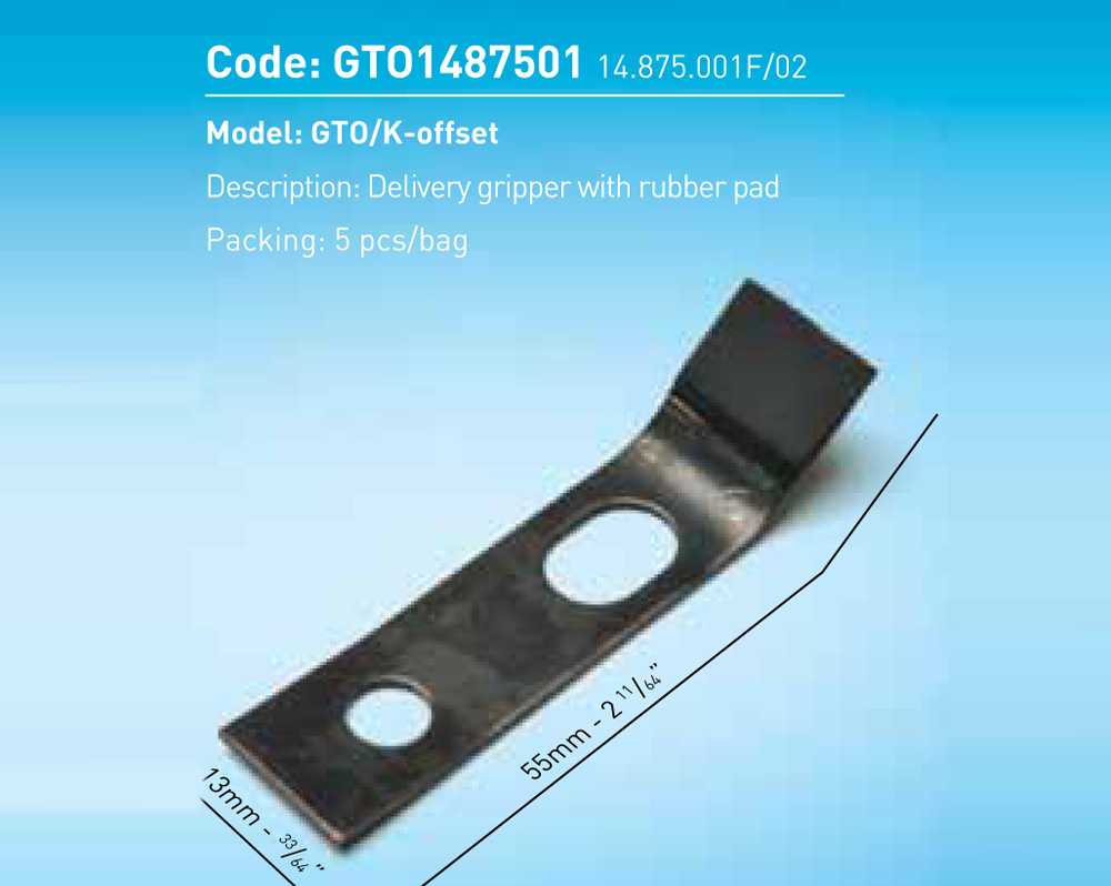 Delivery Gripper For GTO/K-Offset