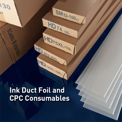 Ink Duct Foil 0.25mm/0.010""