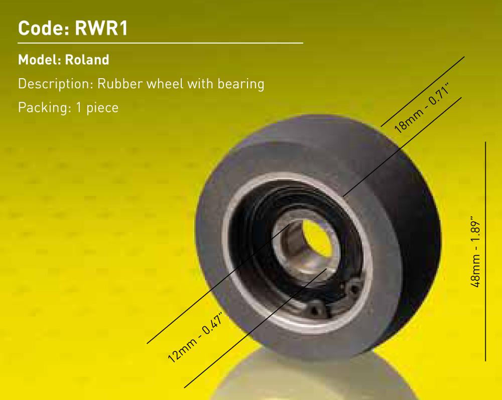 Roland Rubber Wheel