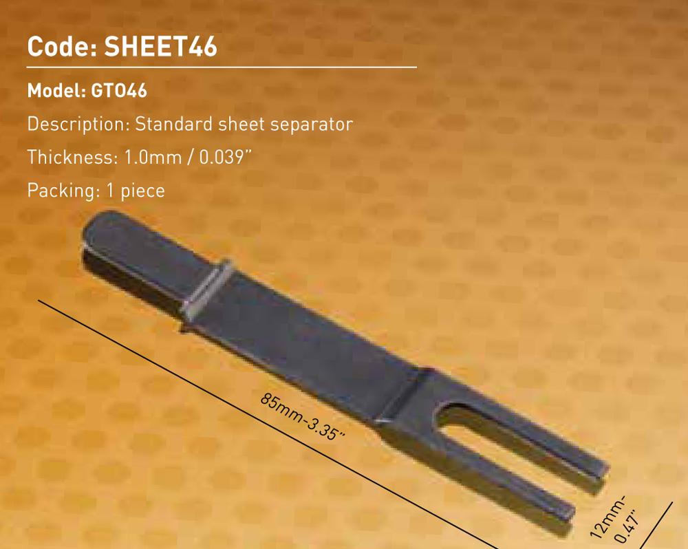 Sheet Separator GTO46