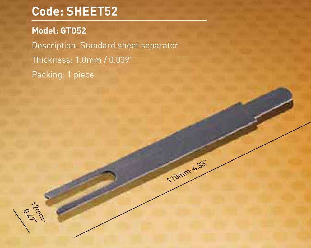 Sheet Separator GTO52