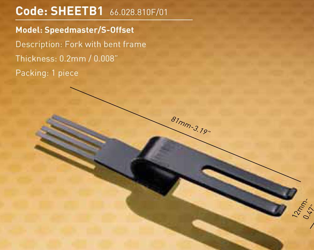 Speedmaster/S-Offset - Fork with bent frame