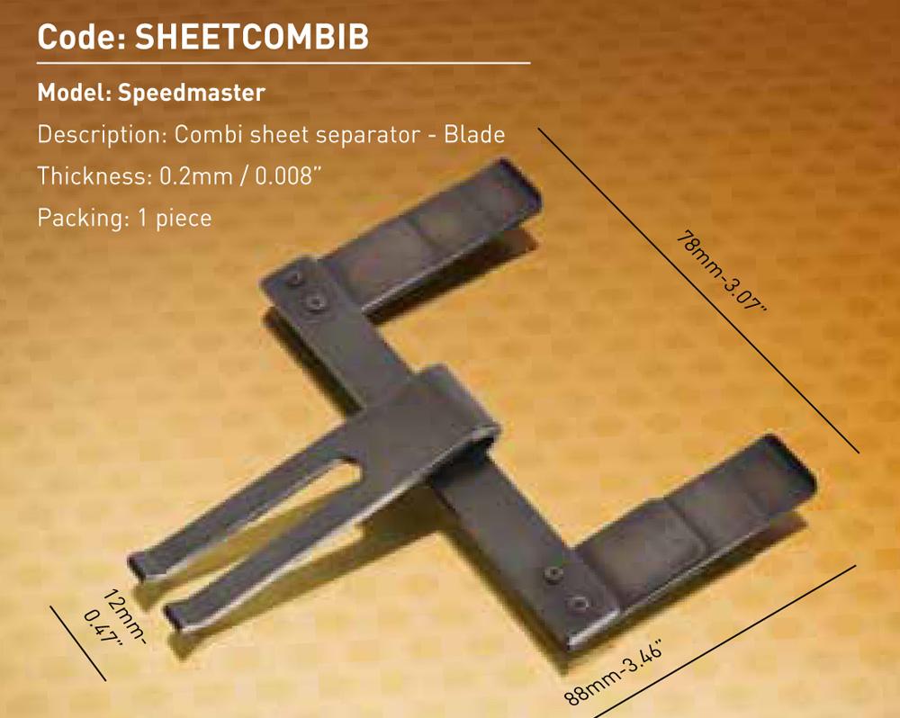 Speedmaster - Combi - Blade