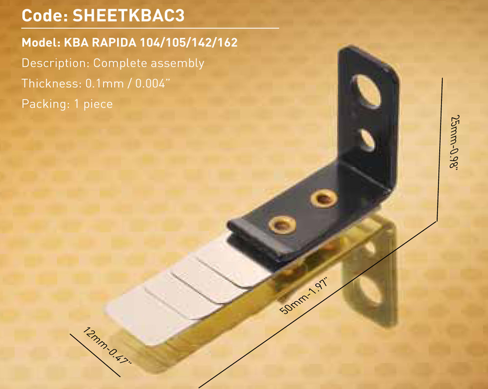 Sheet Separator Complete Assembly 3