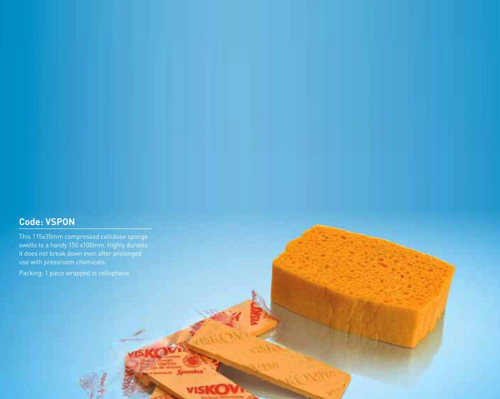 Viskovita Sponges - Compressed